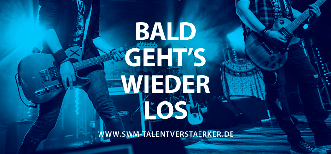 Die Bewerbungsphase für den SWM TalentVerstärker 2019 beginnt am 1. Februar!